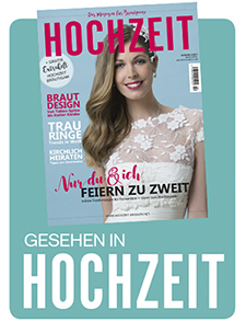 featured in Hochzeit