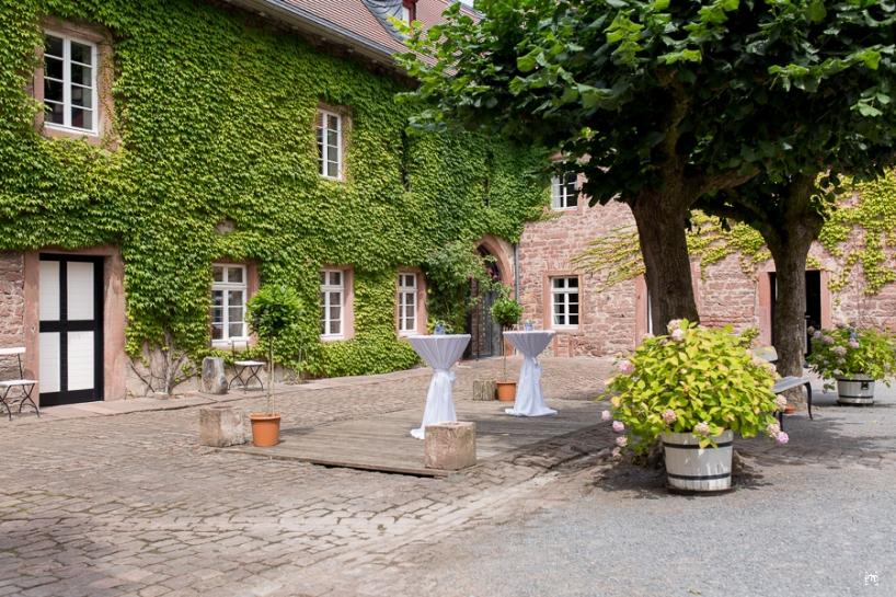 Mittelburg Neckarsteinach Hochzeit