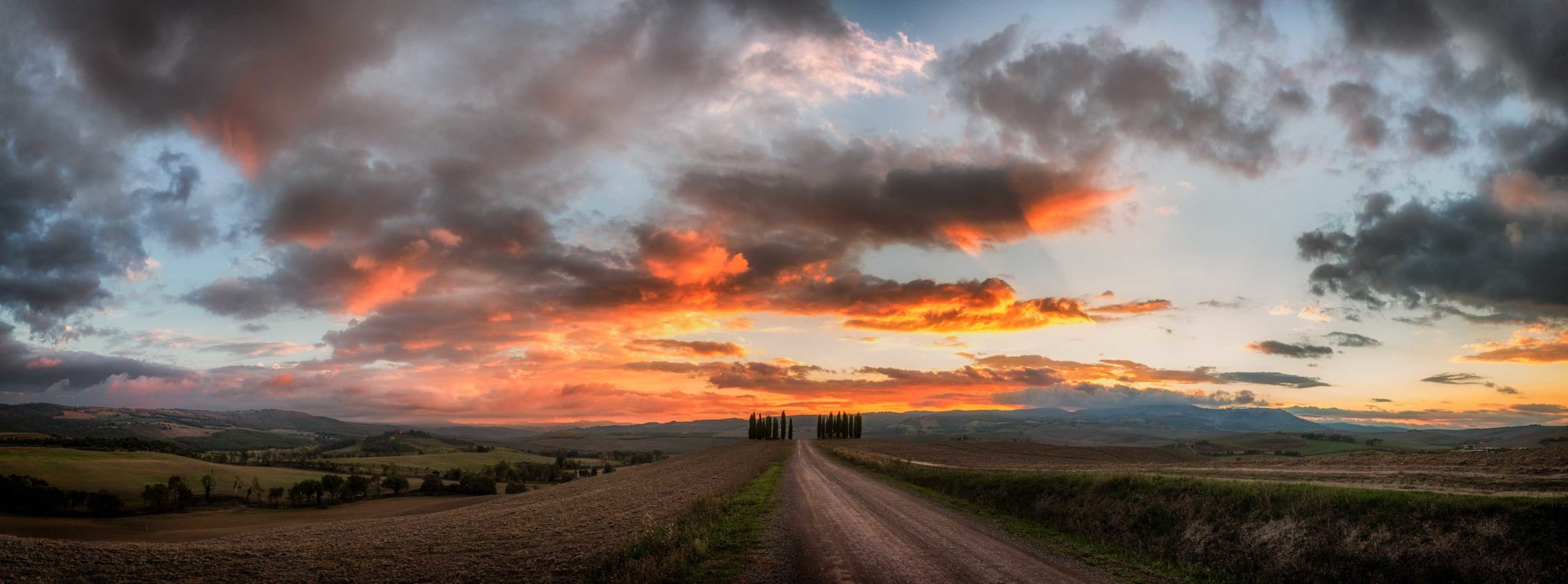 Portfolio Toskana, Val d'Orcia, Herbst, Workshop, Workshops, Fotografie, Panorama, Photography, Ernst Merkhofer, Fotograf, Landschaft,