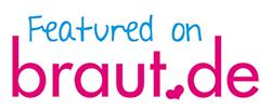 featured on Braut.de badge
